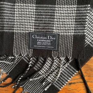 Christian Dior Cashmaire Classic Scarf